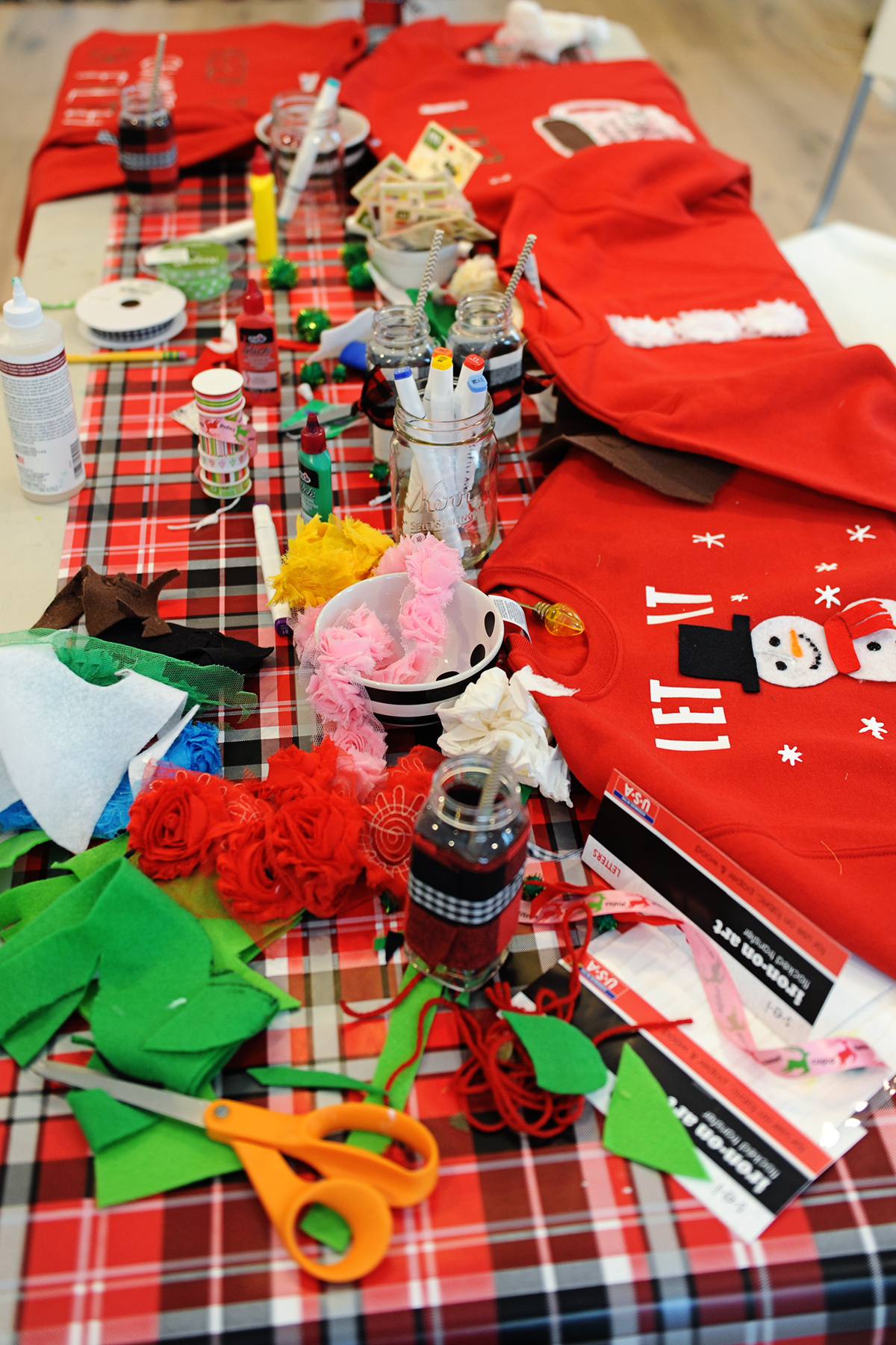 Tacky Christmas Party Ideas : Ugly Sweater Party - Pink ...