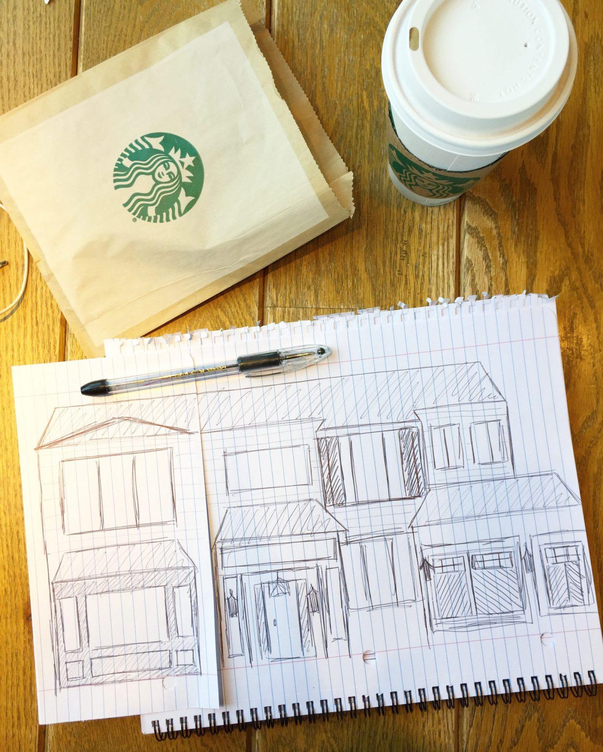 Exterior sketch