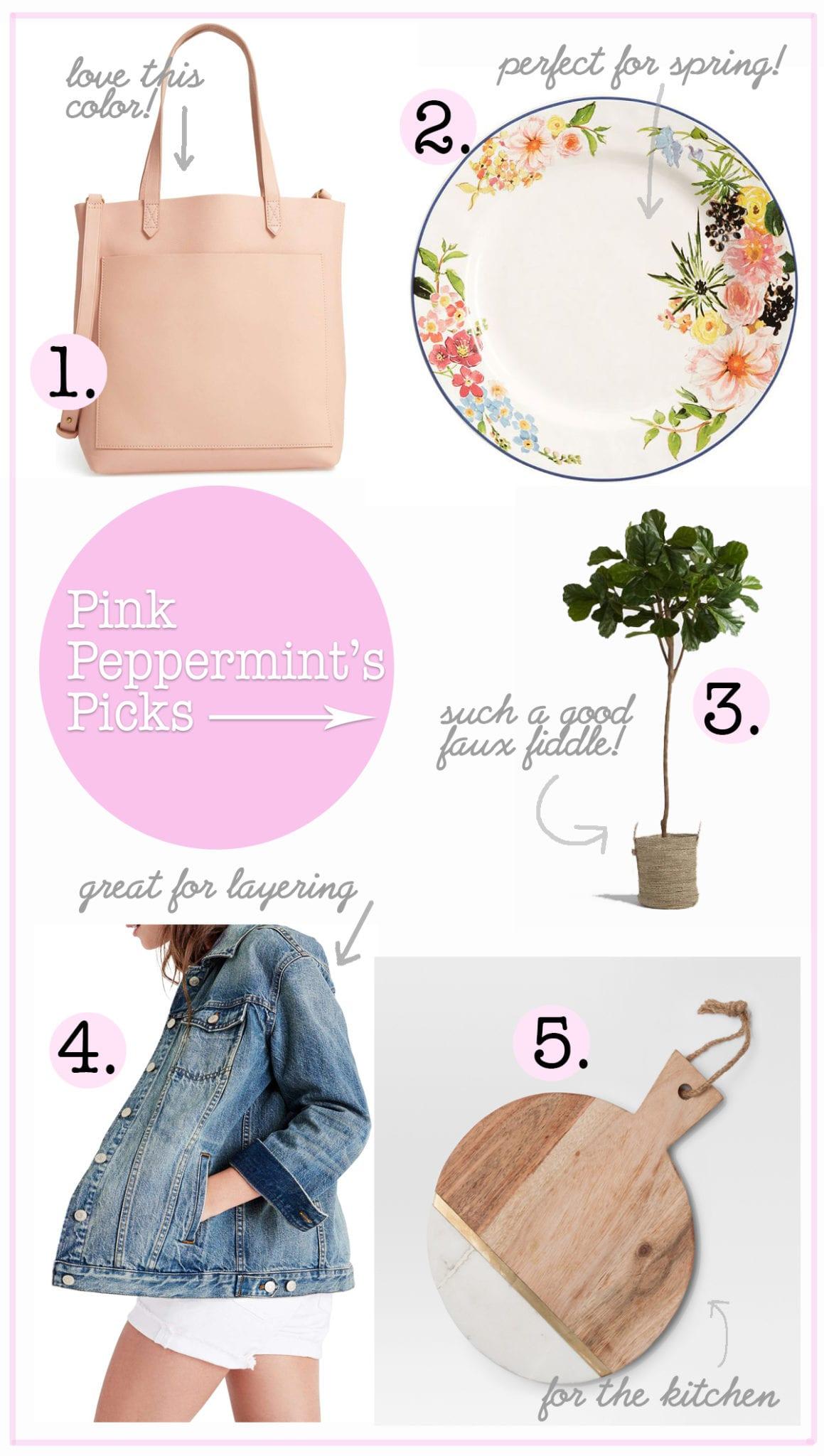 Pink peppermints picks feb 14th