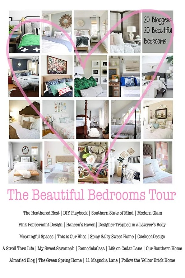 Beautiful bedroom design tour promo image