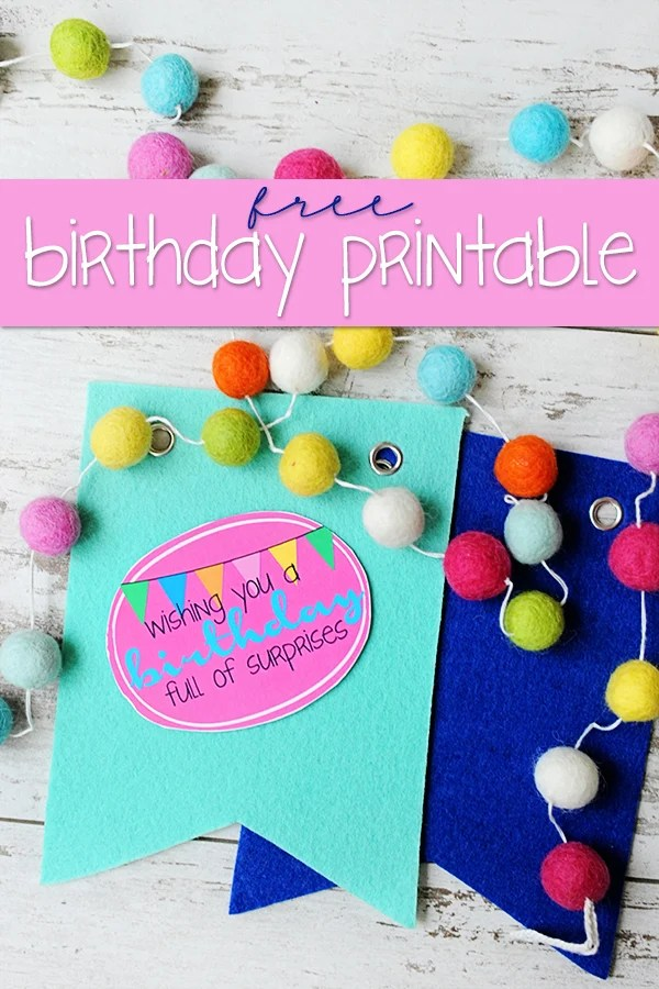 Pinterest birthday surprise