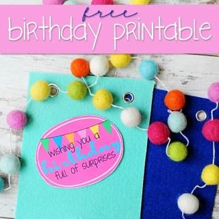 Pinterest birthday surprise