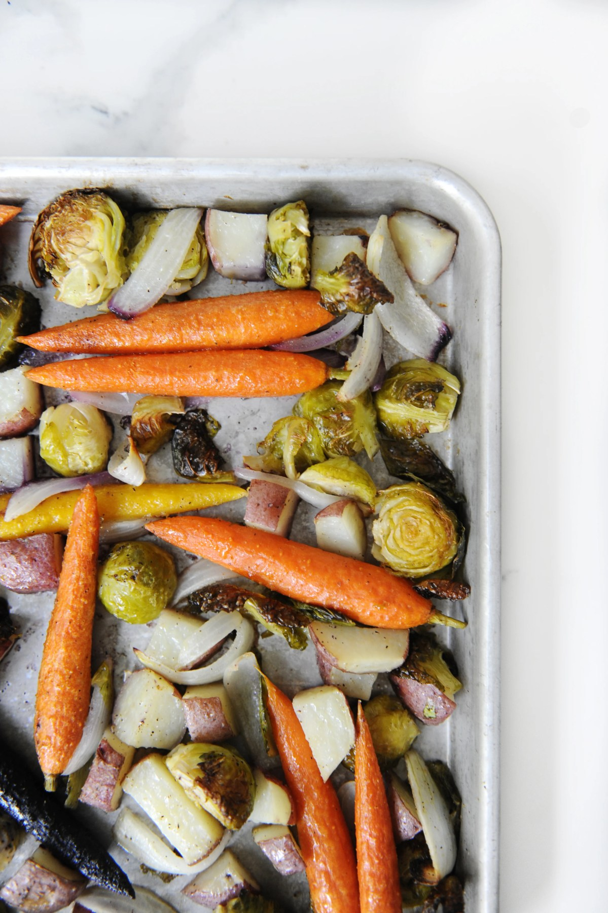 easy roasted vegetables recipe