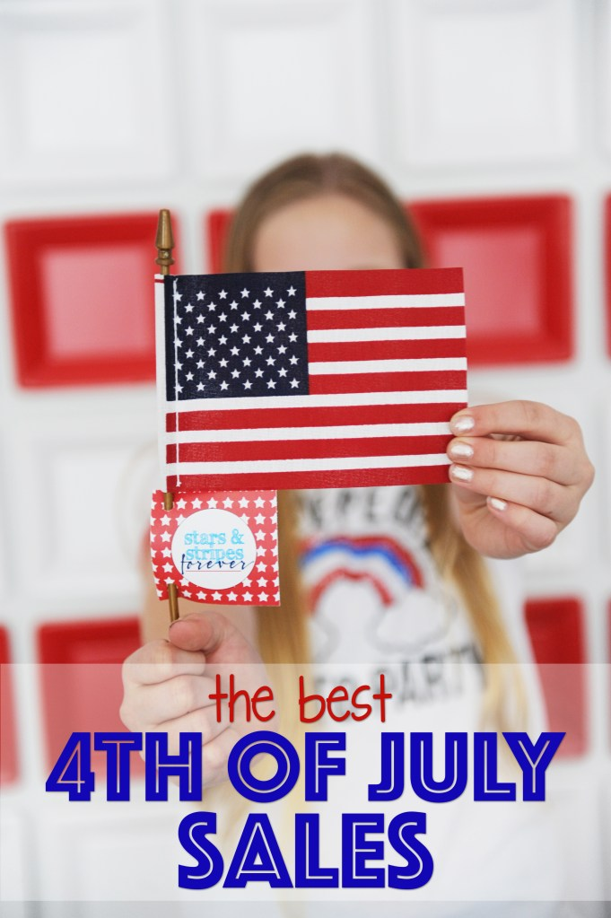 Stars, Stripes and Sales!  All the Best 4th of July Sales