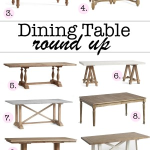 Dining table round up featured