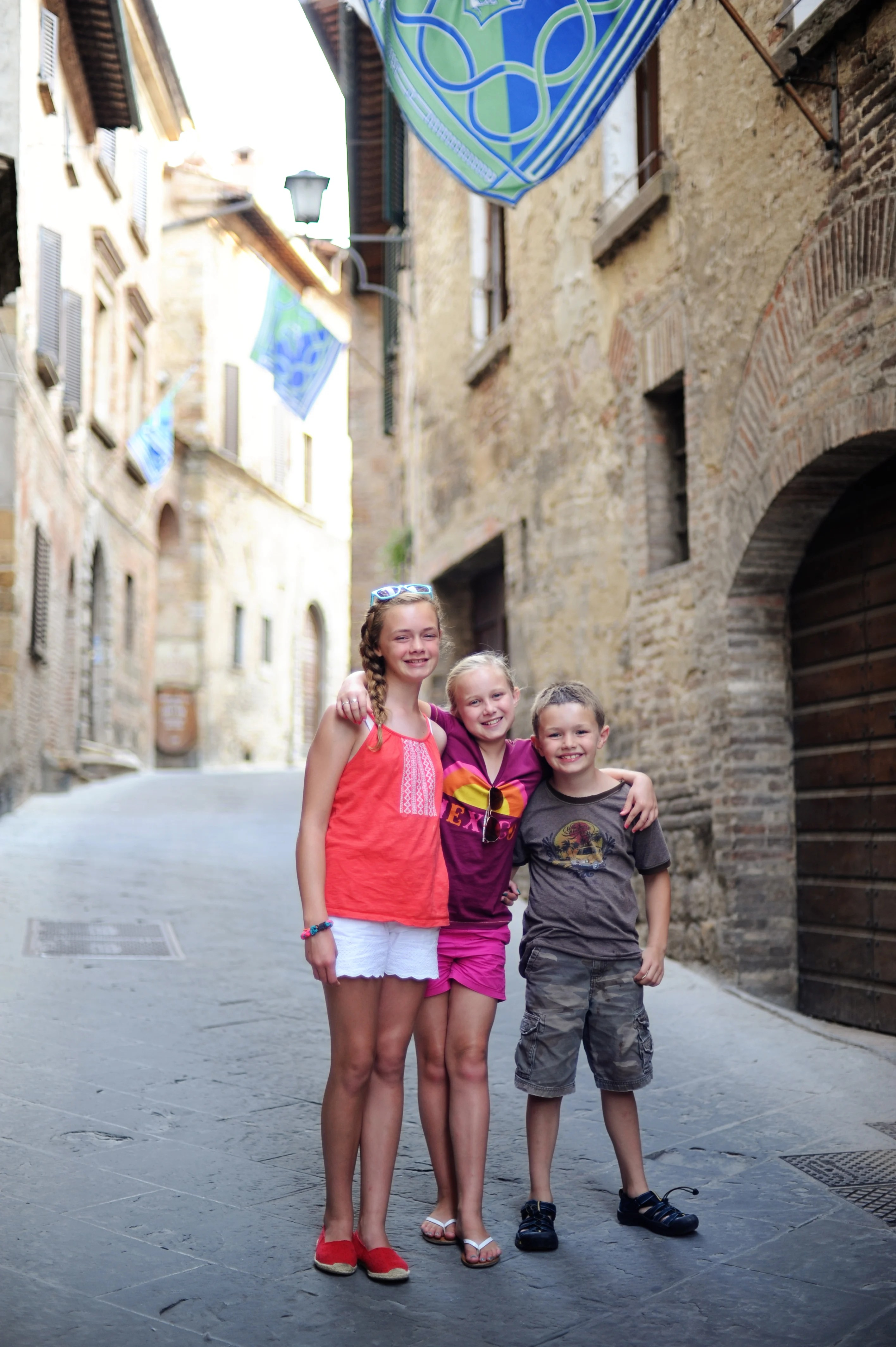 planning a family trip to italy