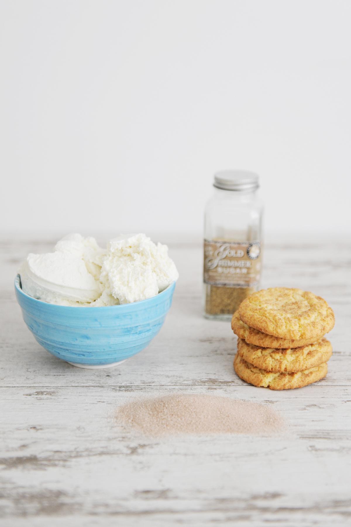 snickerdoodle ice cream sandwich recipe