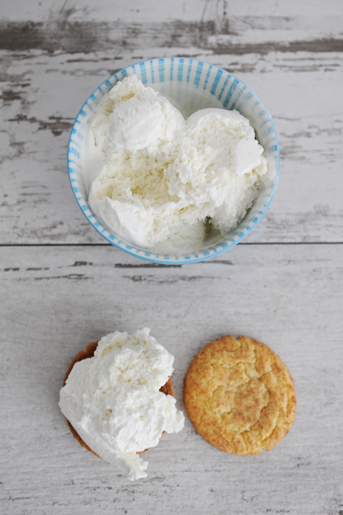 snickerdoodle ice cream sandwich recipe