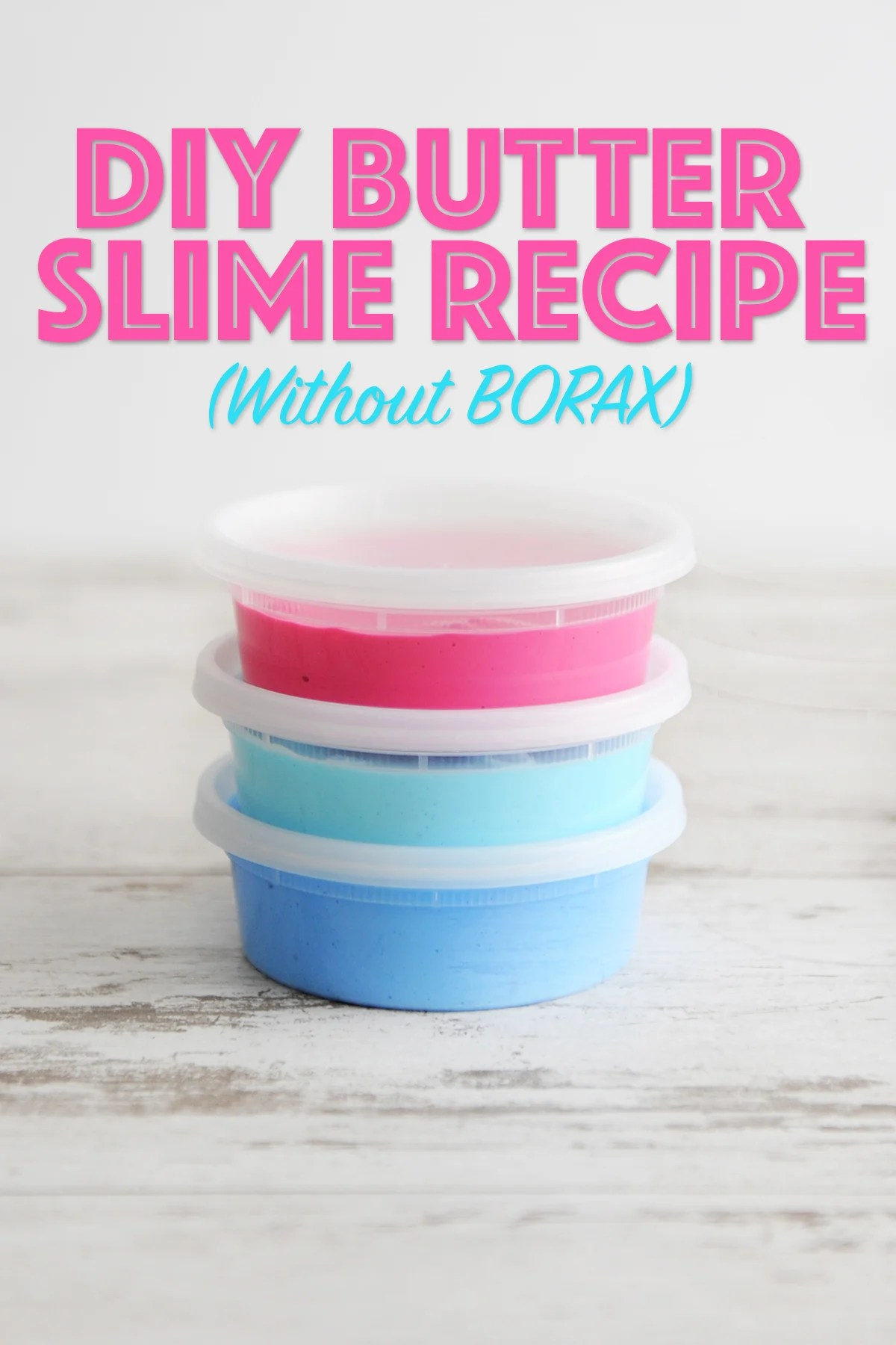 DIY Butter Slime Recipe with No Borax by Tammy Mitchell