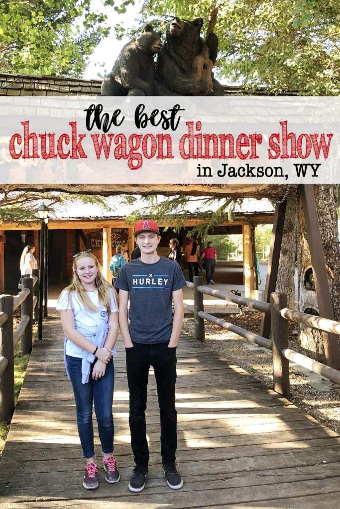 Chuck wagon dinner show jackson wy
