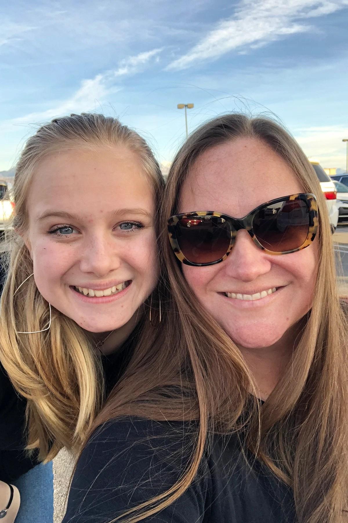 Mom and ash