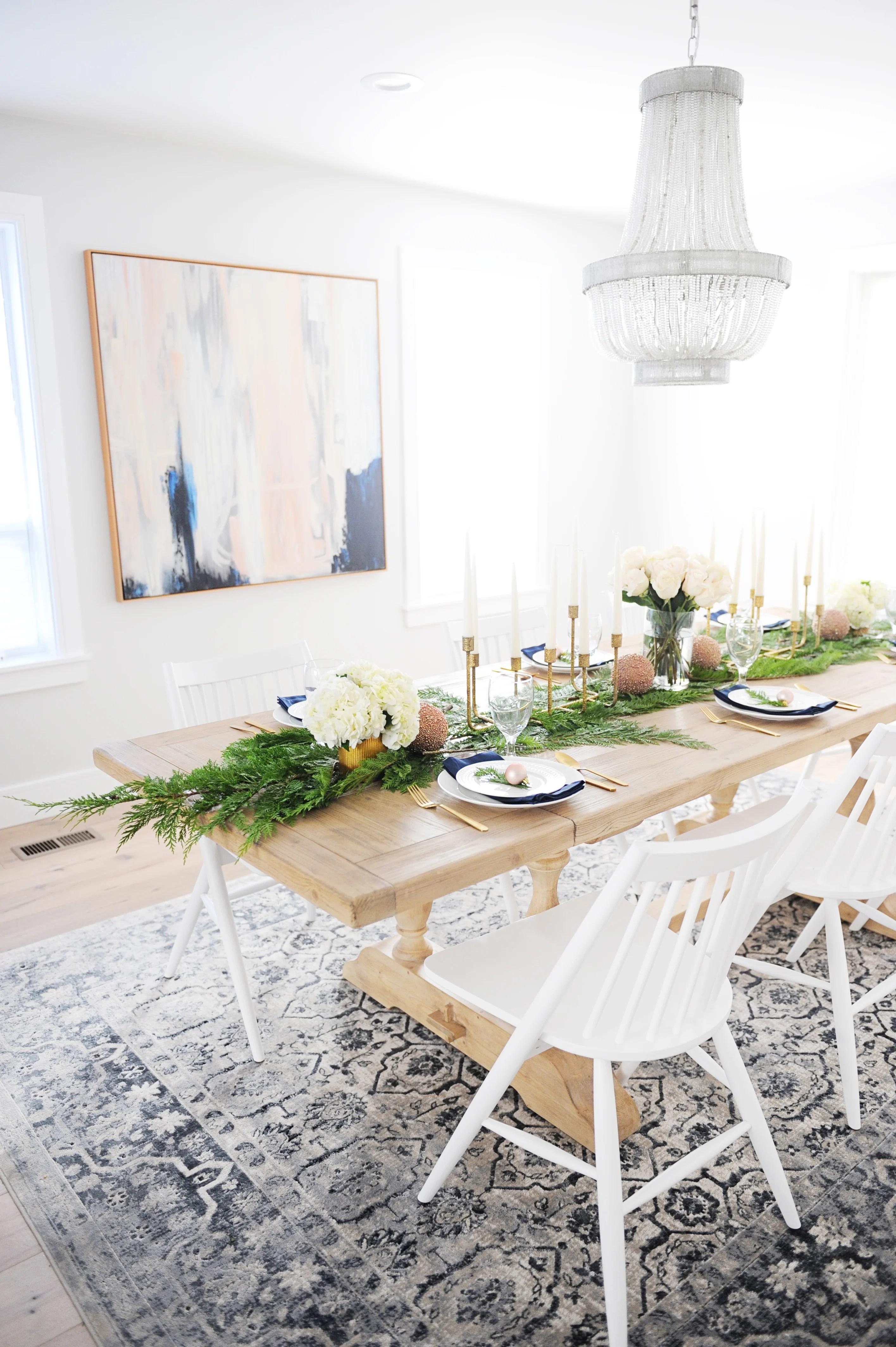 Christmas dining room decorating ideas 17