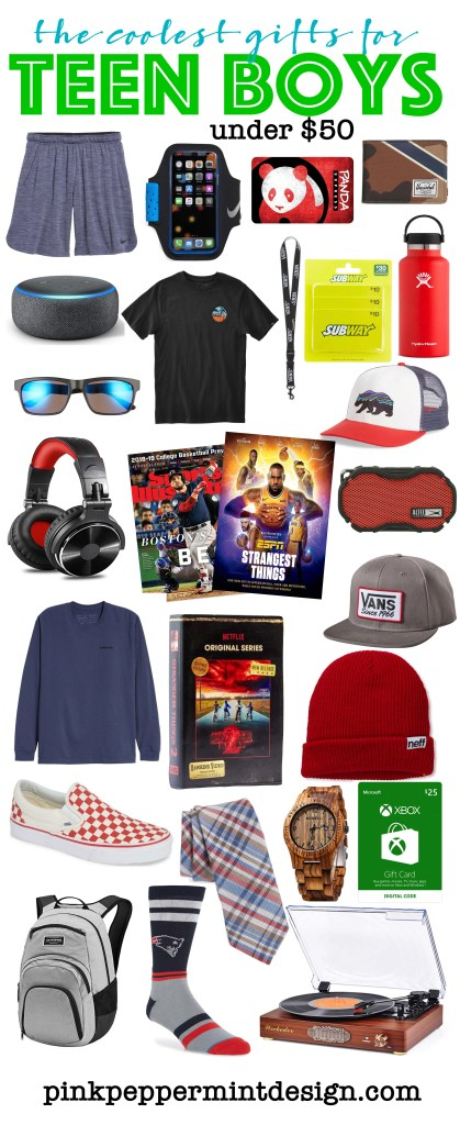 The coolest gifts for teen boys