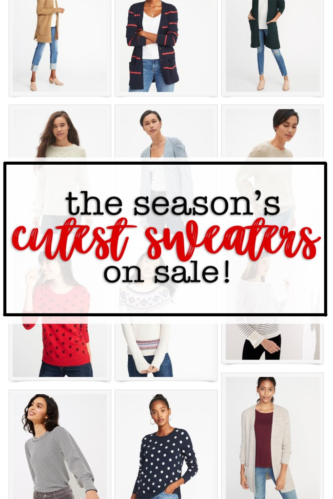 The seasons cutest sweaters