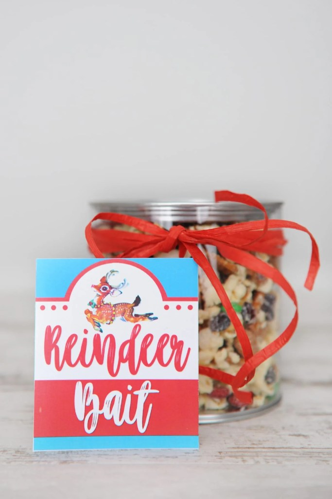 free Christmas treat tags printable