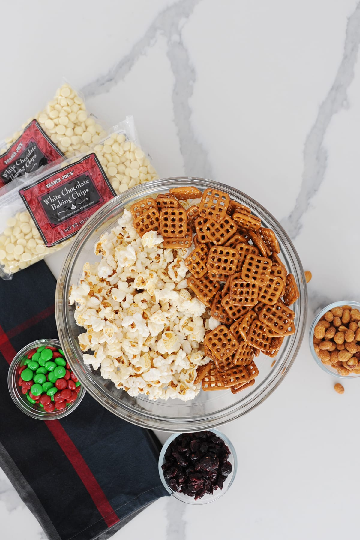 Popcorn mix recipe