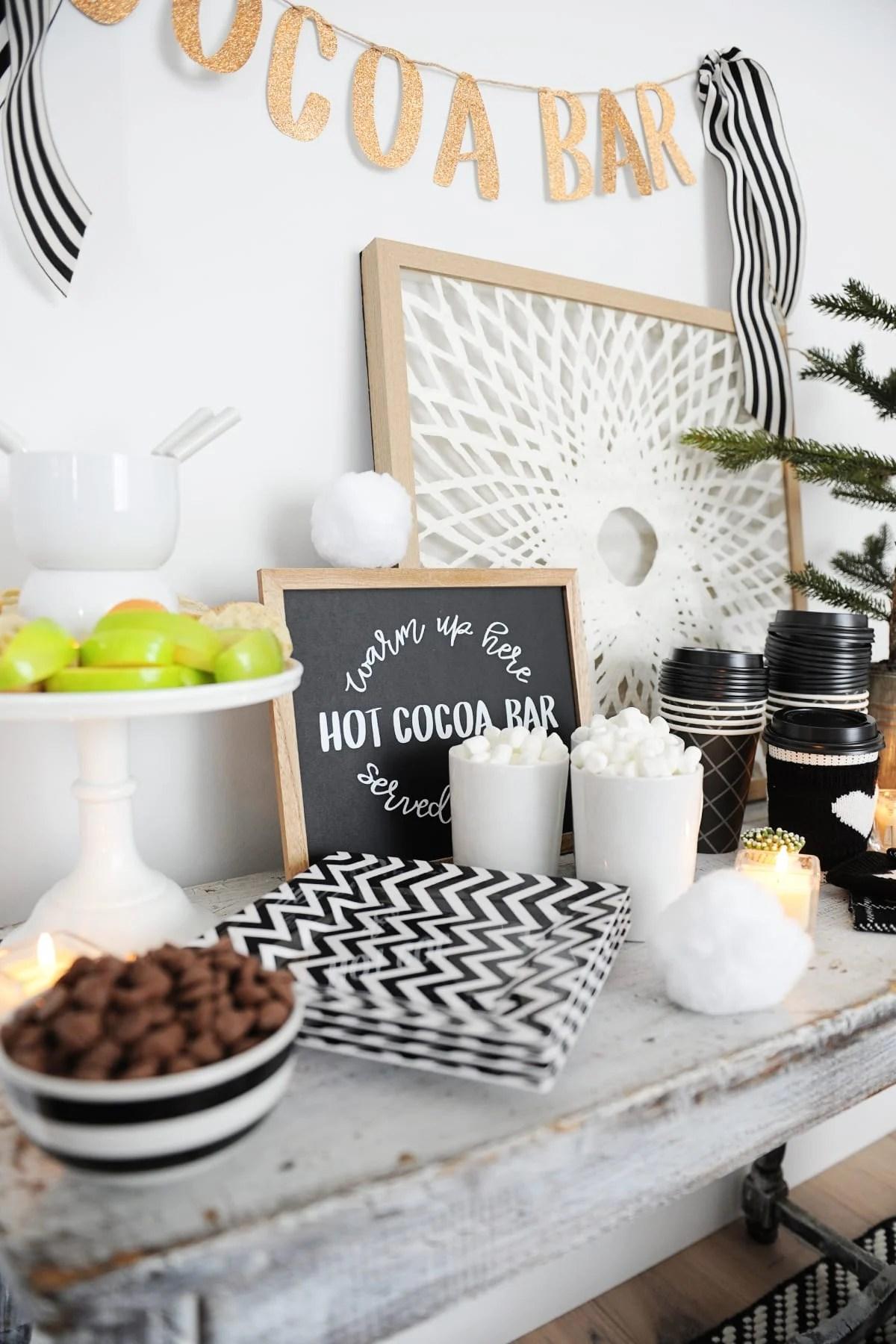 ski party themes food ideas