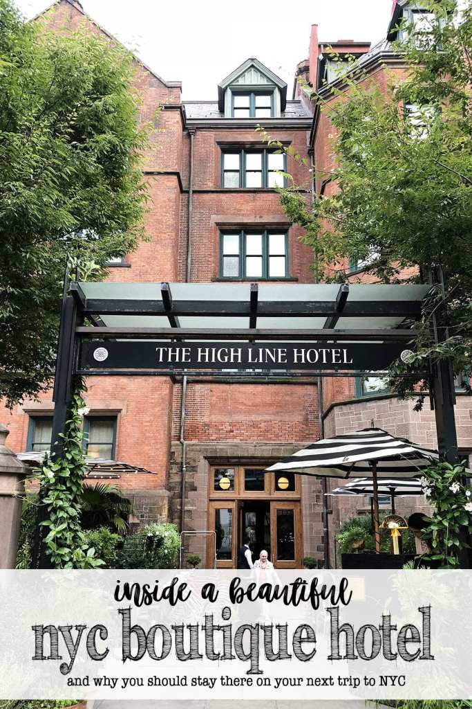 Prettiest Luxury Boutique Hotel in Chelsea NYC: The High Line Hotel