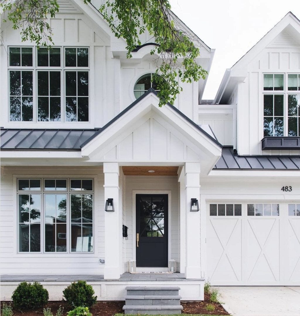 Midway Modern Farmhouse Plans With Wrap Around Porch Pink