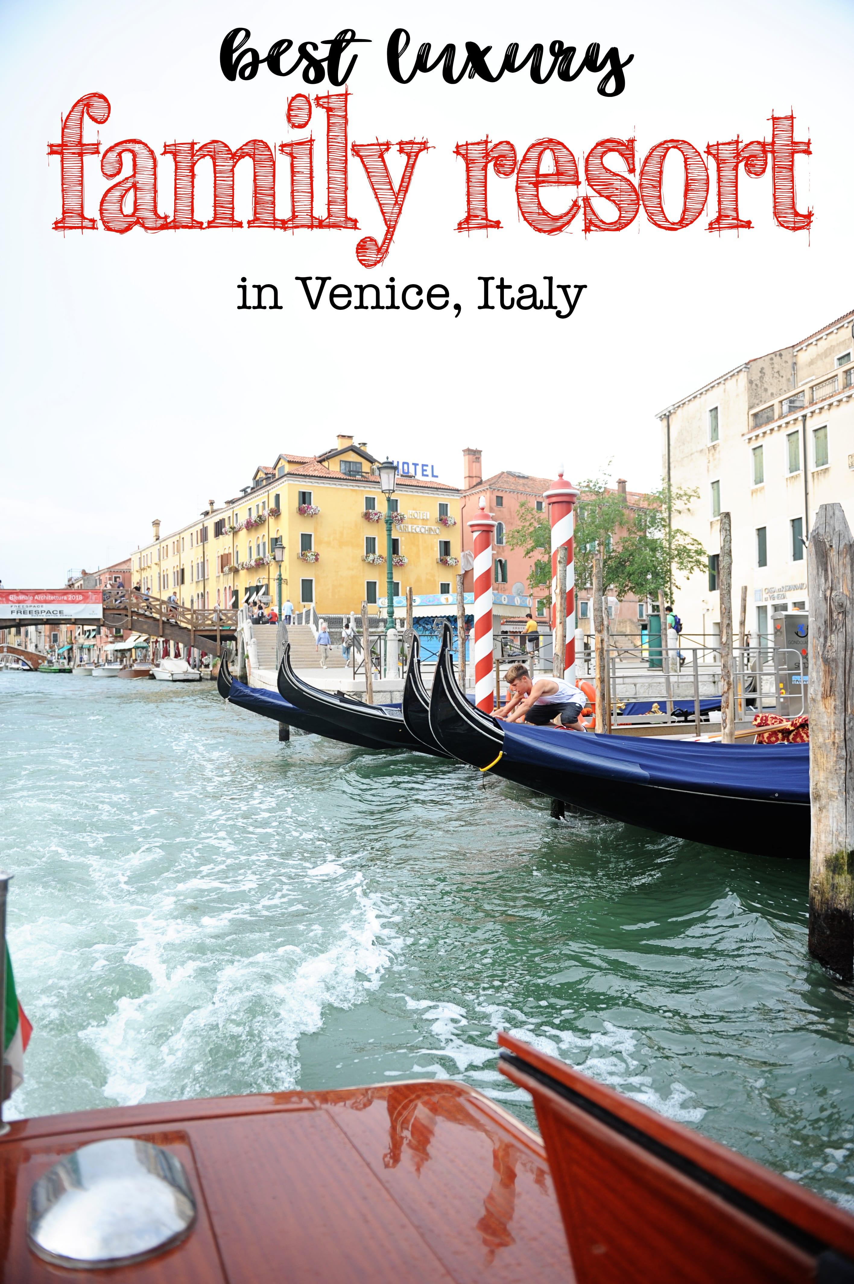 Isola delle Rose Venezia : JW Marriott Venice Italy : Best Family