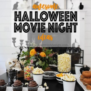 Halloween movie night ideas