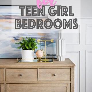 Wall art for teen girl bedrooms