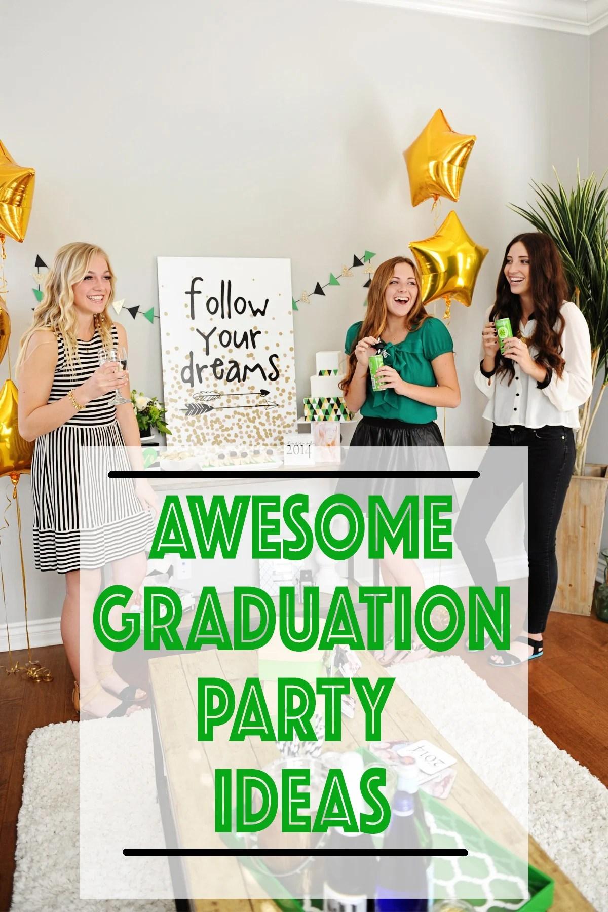 Graduation Party Ideas : Follow Your Dreams
