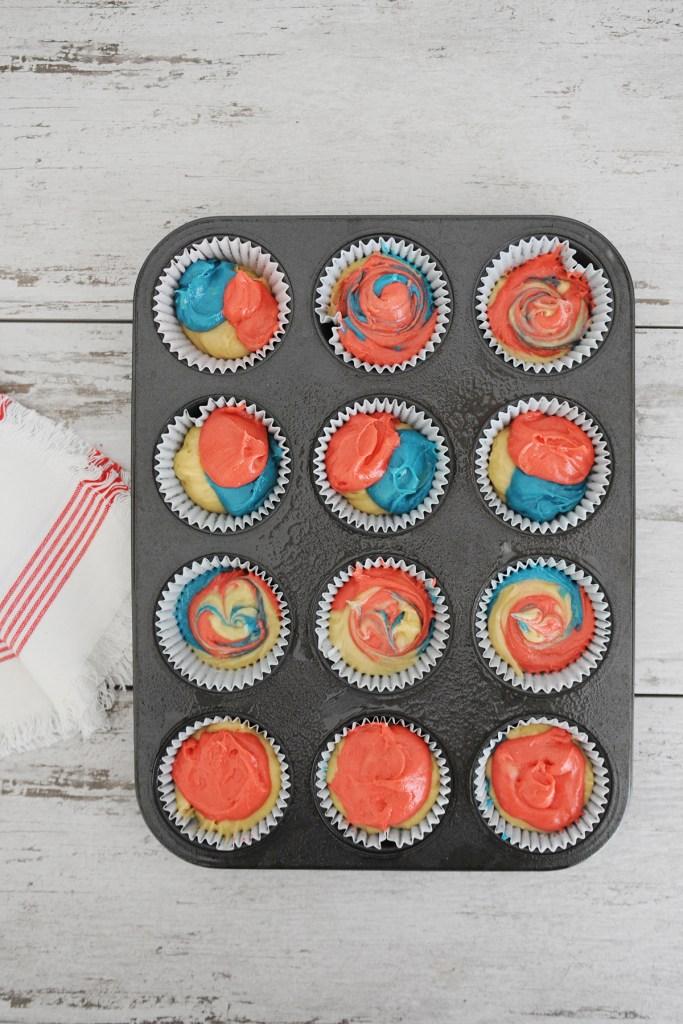 Tie dye cake mix 6