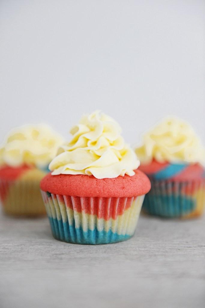 Tie dye cake mix 7