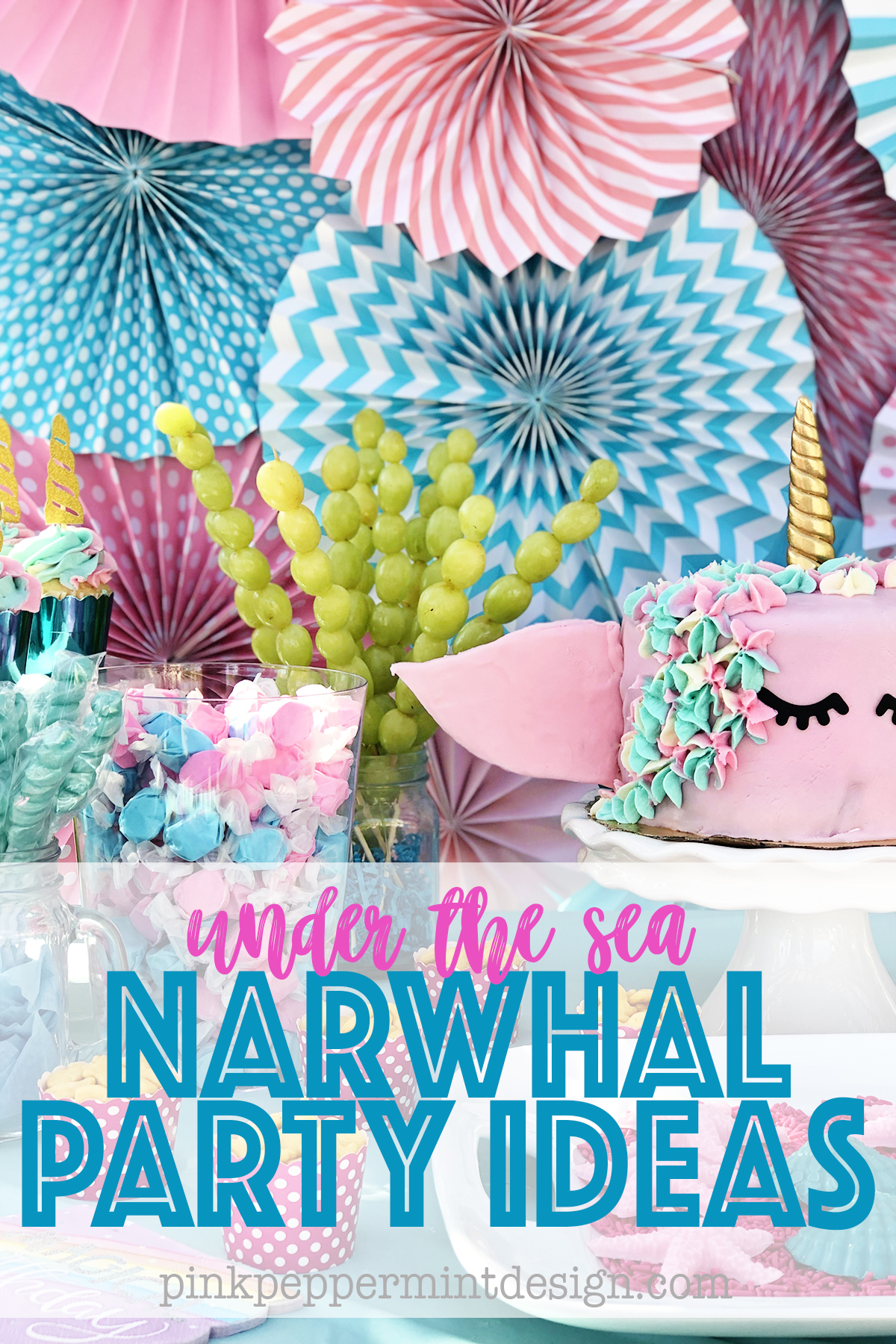 Under the Sea Party Ideas : The Narwhal Party