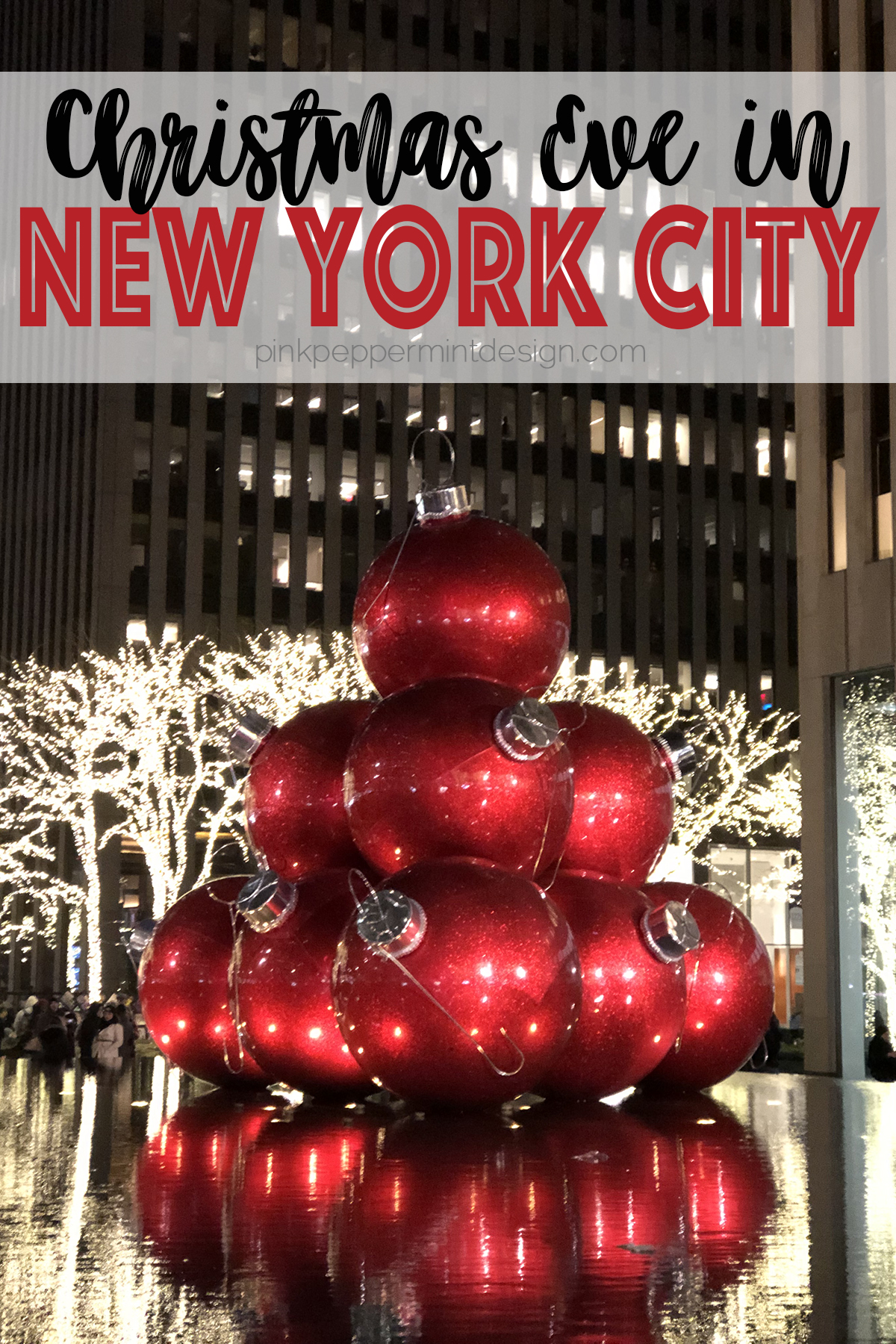 Christmas eve in new york city