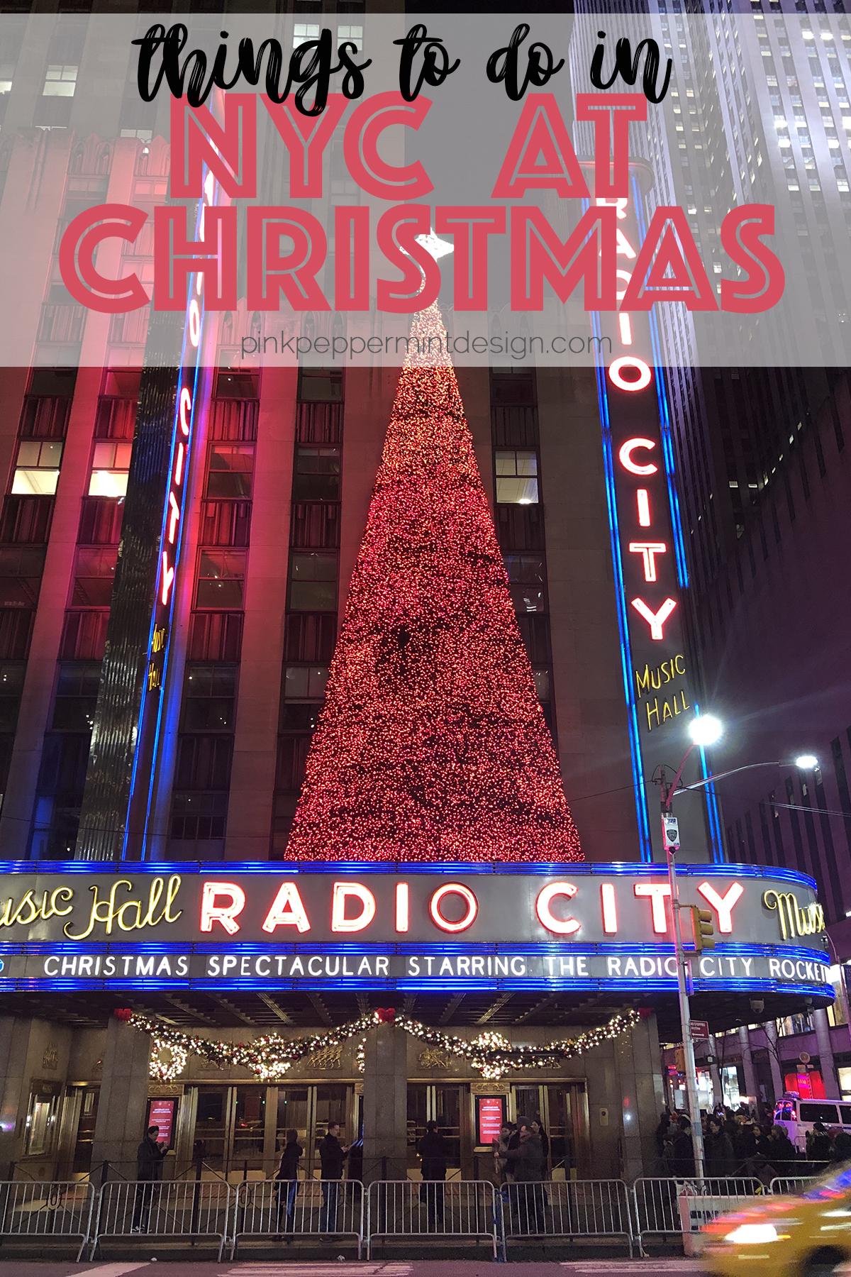 Macy's Santaland & Spending Christmas in New York City