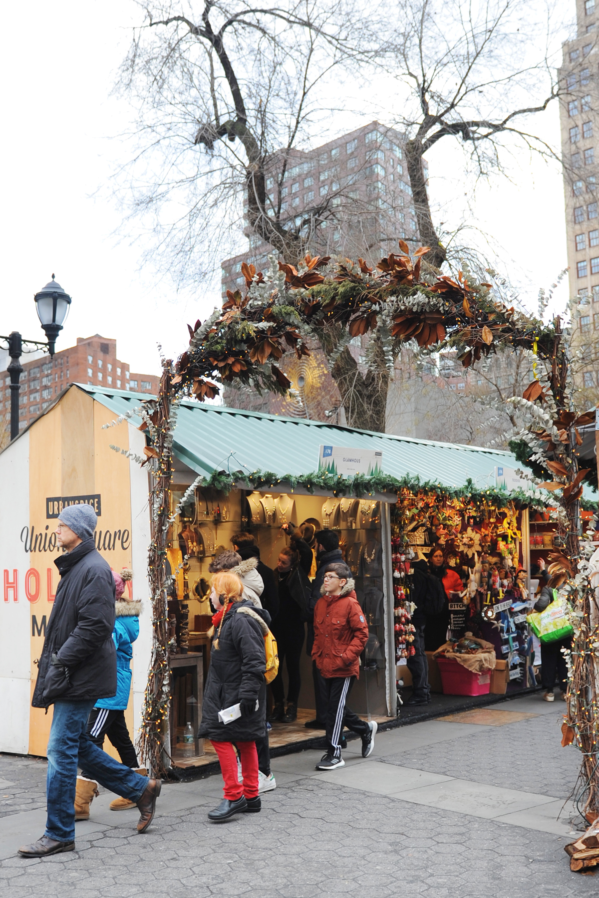 Union square christmas market nyc