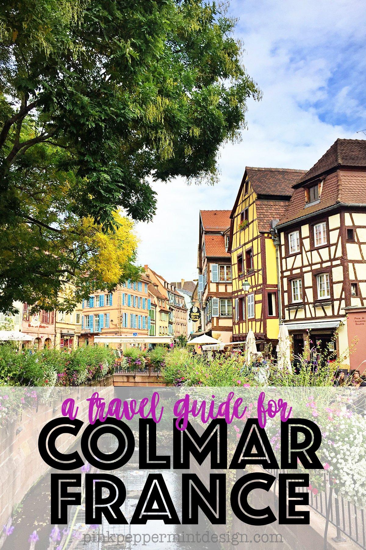 La Petite Venise : Visit Colmar Alsace France