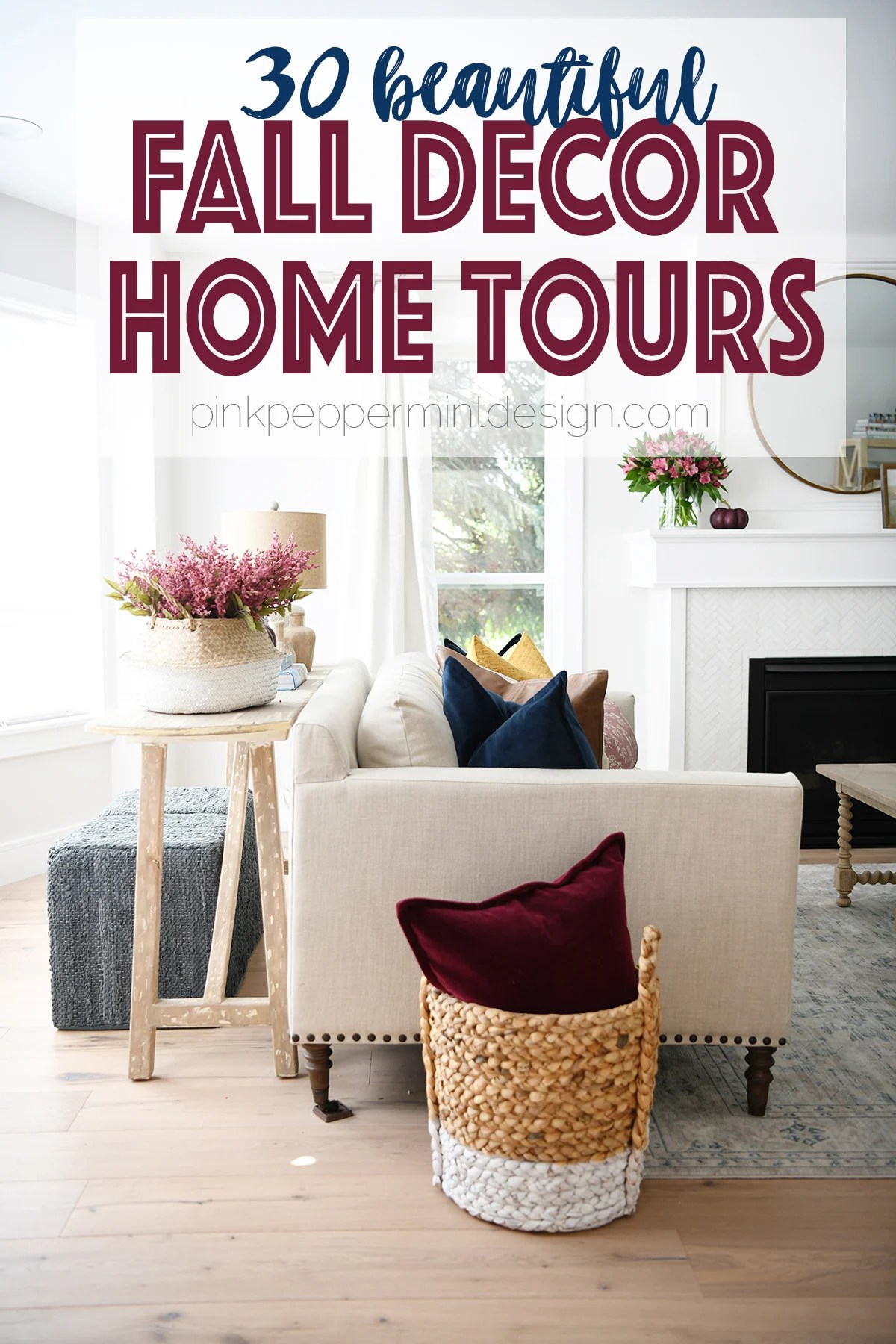 Fall Decor : 30 Beautiful Fall Room Decor Tours