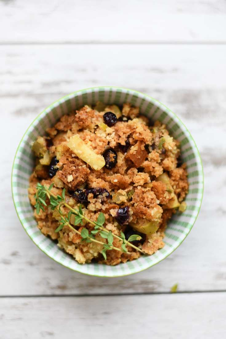 Easy Thanksgiving Side Dishes : Delicious Gluten Free Stuffing Recipe