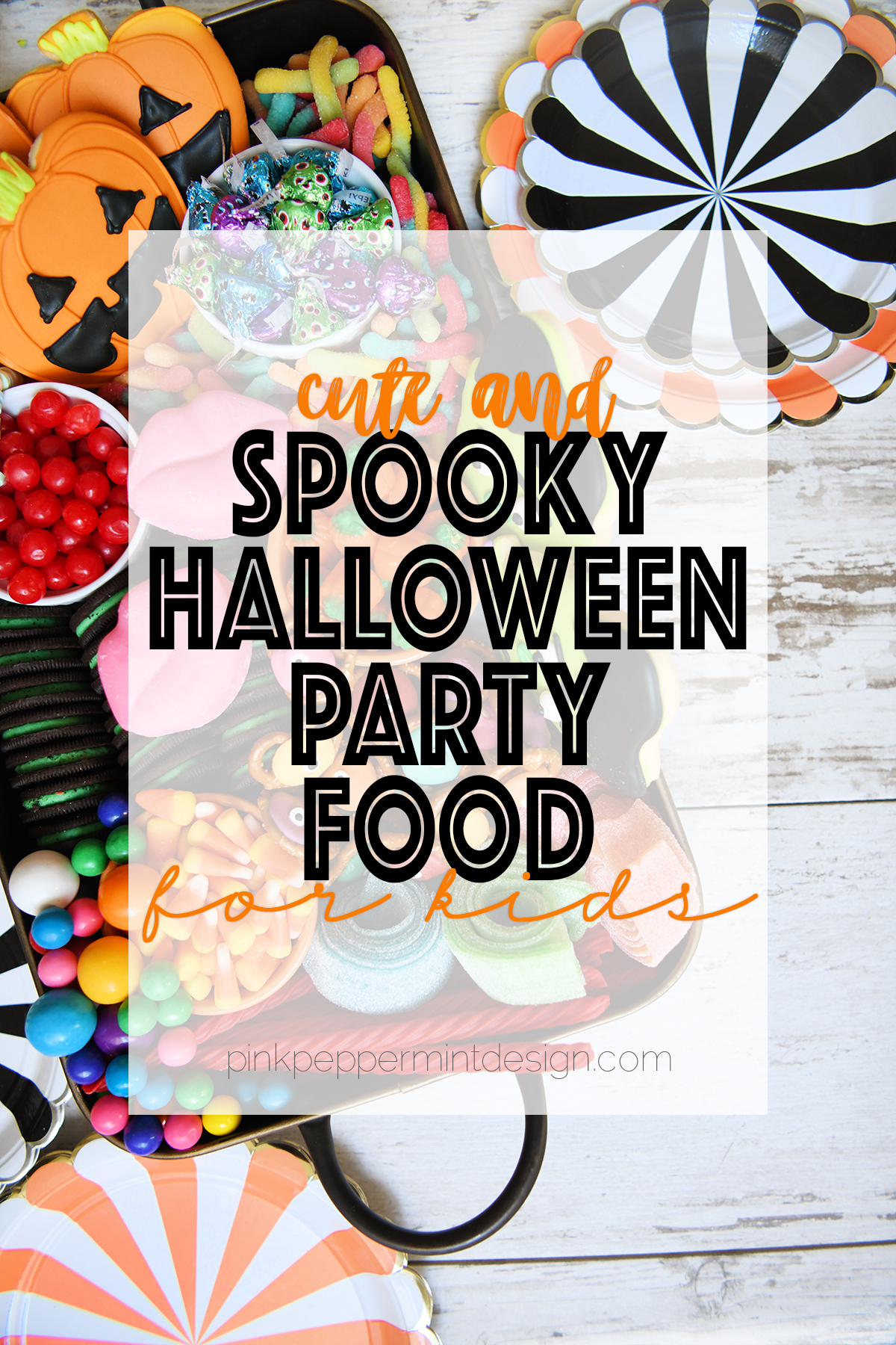 Awesome Spooky Halloween Party Food Idea – Sweets Charcuterie
