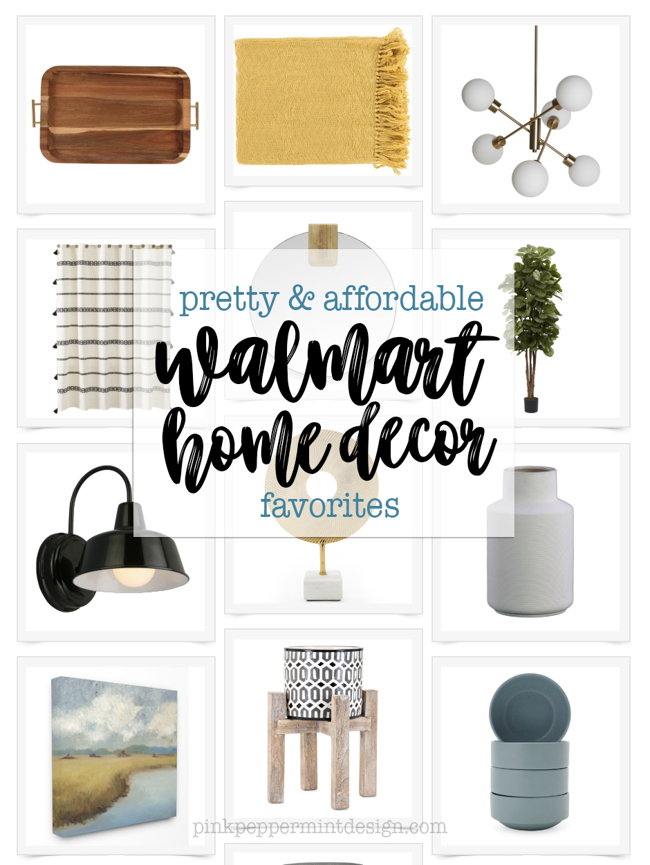 Pretty and Affordable Walmart Home Decorations