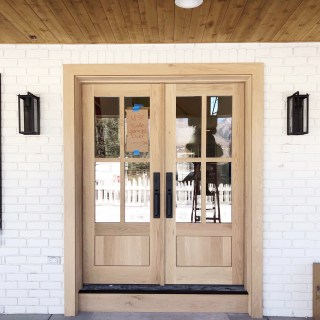 modern farmhouse remodel before and after