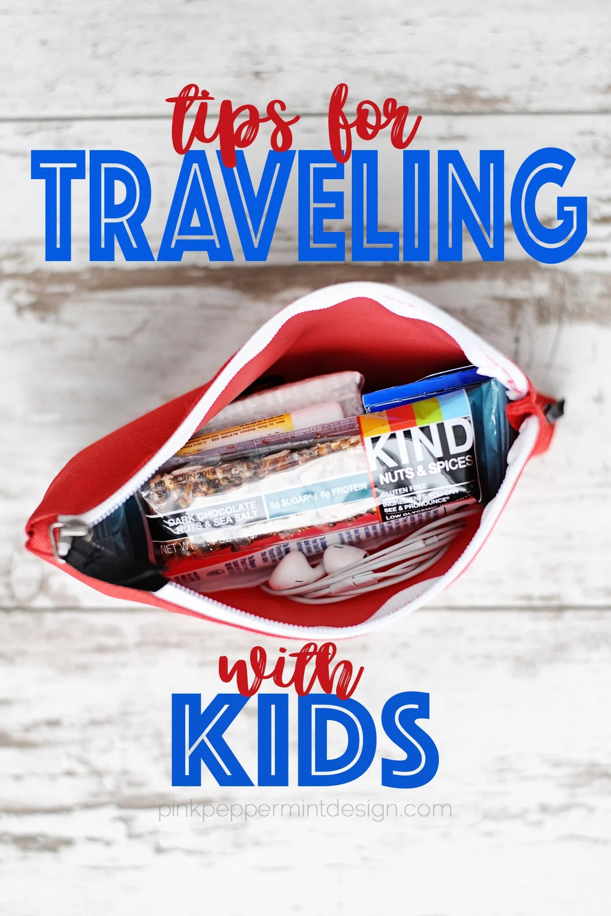 Organizing Tips for Traveling with Kids