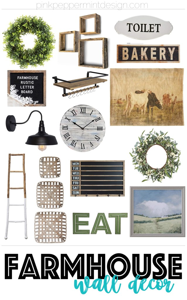 Farmhouse wall decor ideas