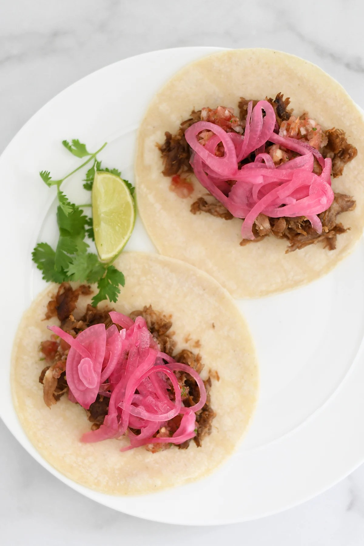 pork carnitas tacos toppings