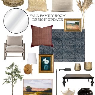Fall family room design ideas