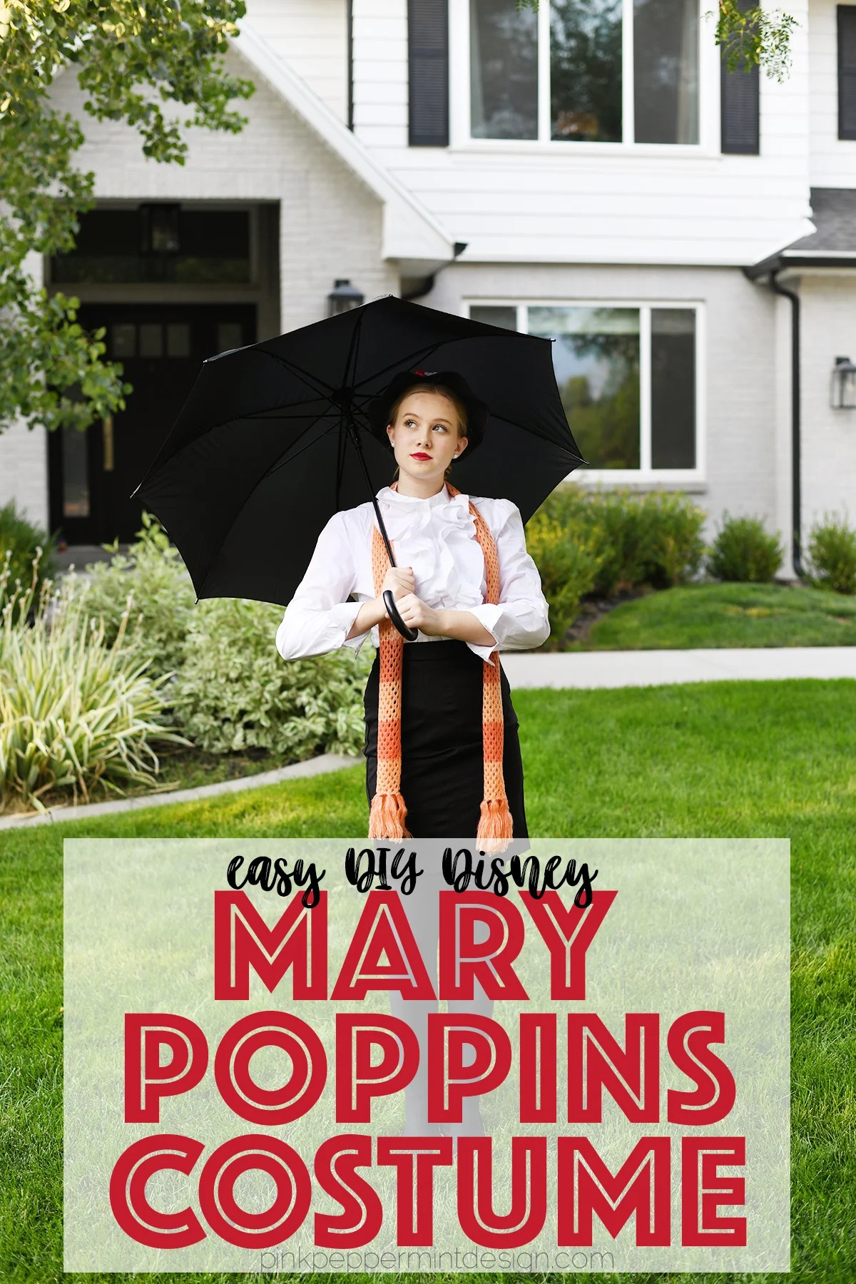 Easy diy disney mary poppins costume ideas 2