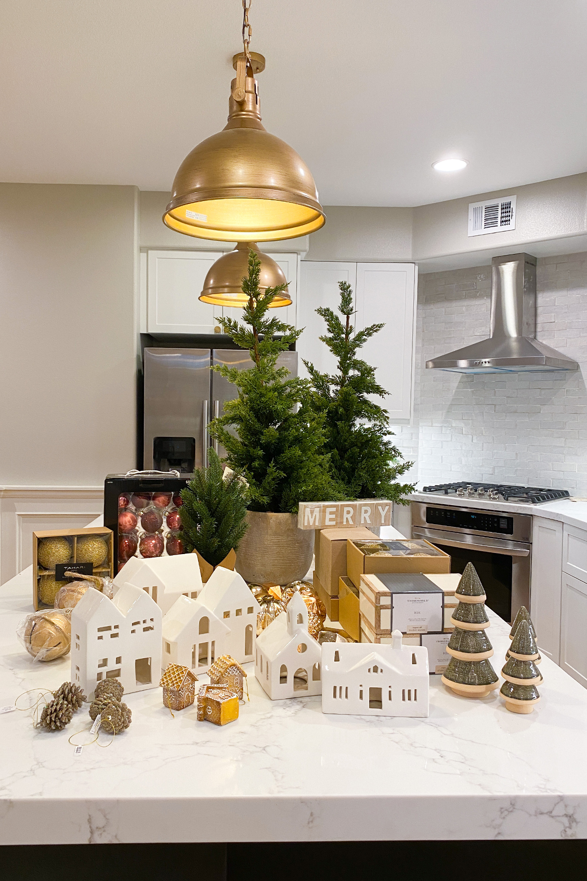 Christmas decor storage