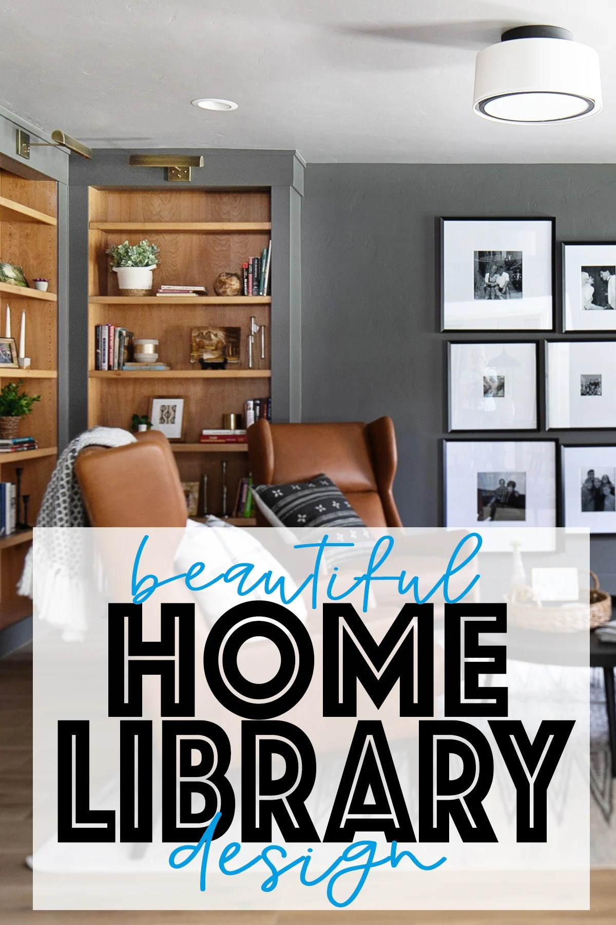Home Library Design : Midway Modern Farmhouse