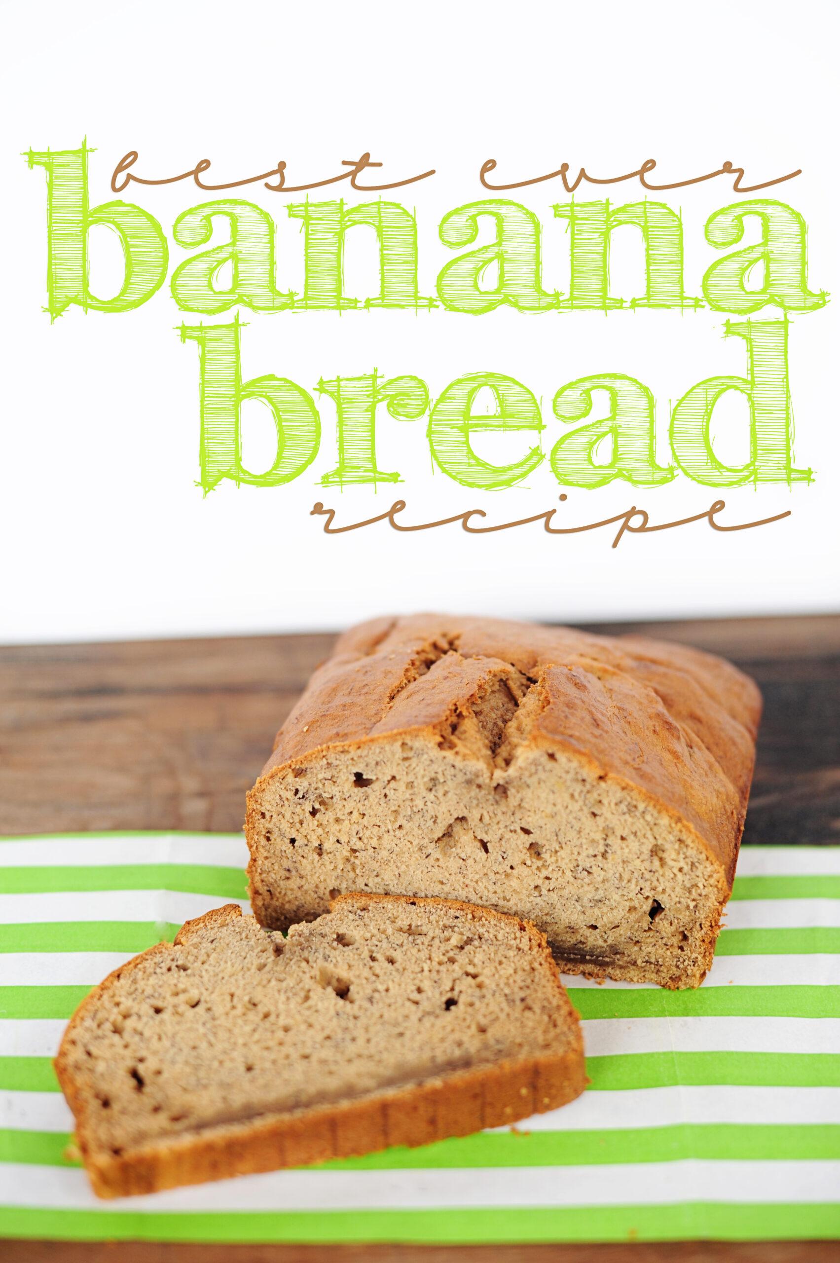 The best banana bread recipe ever 3