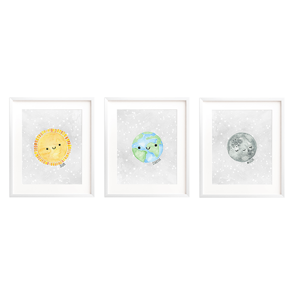 Outer Space Wall Art Print