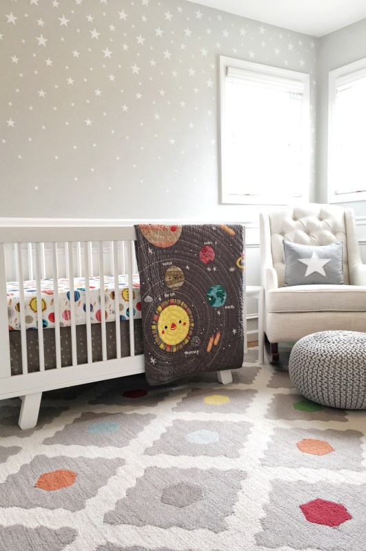 Outer Space Baby Nursery Reveal!