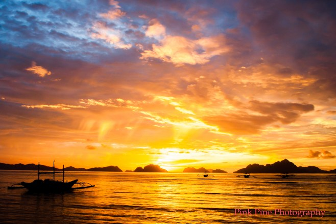 Sunset at El Nido